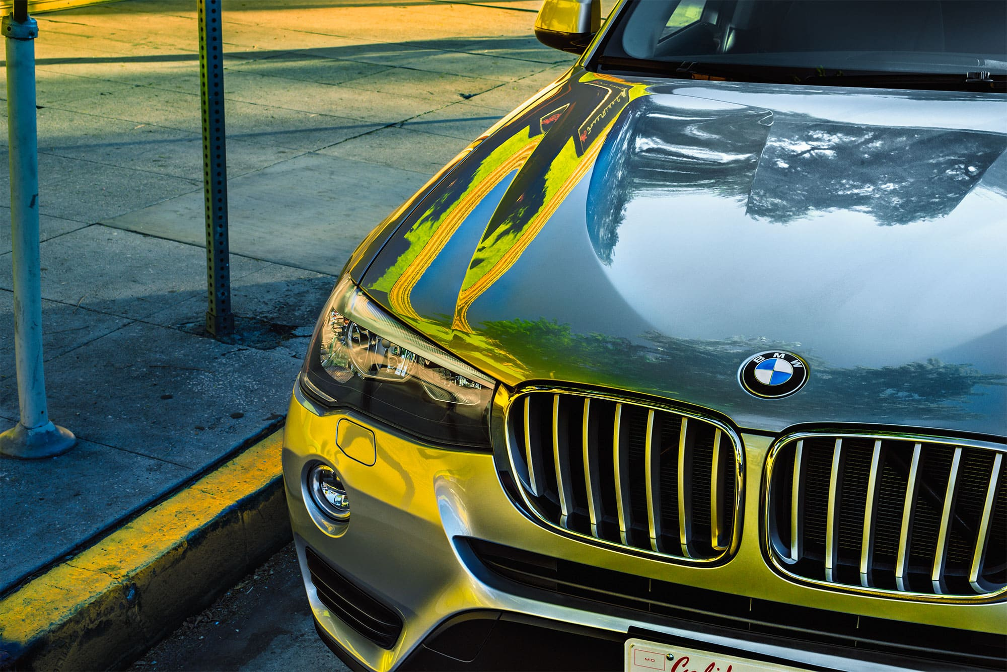 johannes kuehn photography and cgi berlin Los Angeles with BMW
